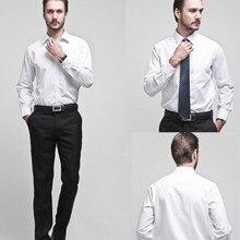 Men's brand shirt Men's long sleeve dress shirt men Classic