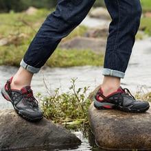 Summer Sandals Man Hiking Shoes Outdoor Men Breathable Mesh Trekking Sneakers Water Shoes Trekking Mountain Shoes Outdoor Men