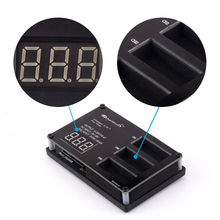 TELLO 3-in-1 LED Display Battery Charger Intelligent Multi Charging Hub for DJI TELLO Mini Drone Batteries Accessories