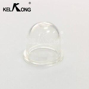Image 2 - KELKONG 5Pcs 15mm חלקי חילוף קרבורטור פחמימות פריימר נורות כובע קטן דלק משאבת בנזין מפוח גוזם Brushcutter 15*18*14
