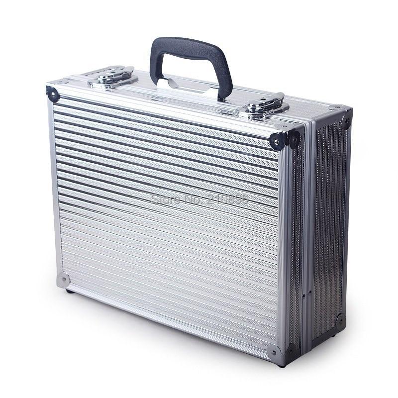 Aliexpress.com : Buy Aluminum Case Equipment Box Aluminum Tool Box Metal  Garage Portable Box Black And Silver Colour From Reliable Box Microsoft  Suppliers ...