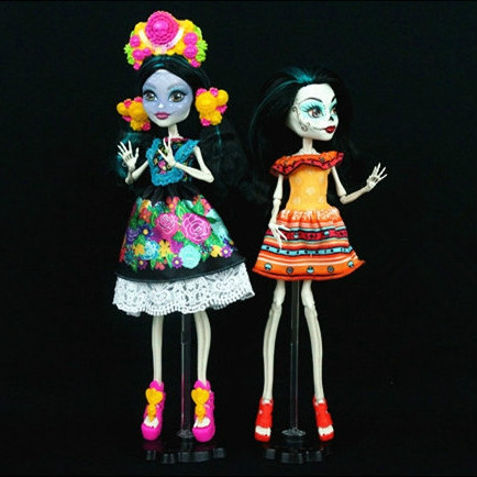 skelita calaveras poupe - Skelita Calaveras Halloween Costume