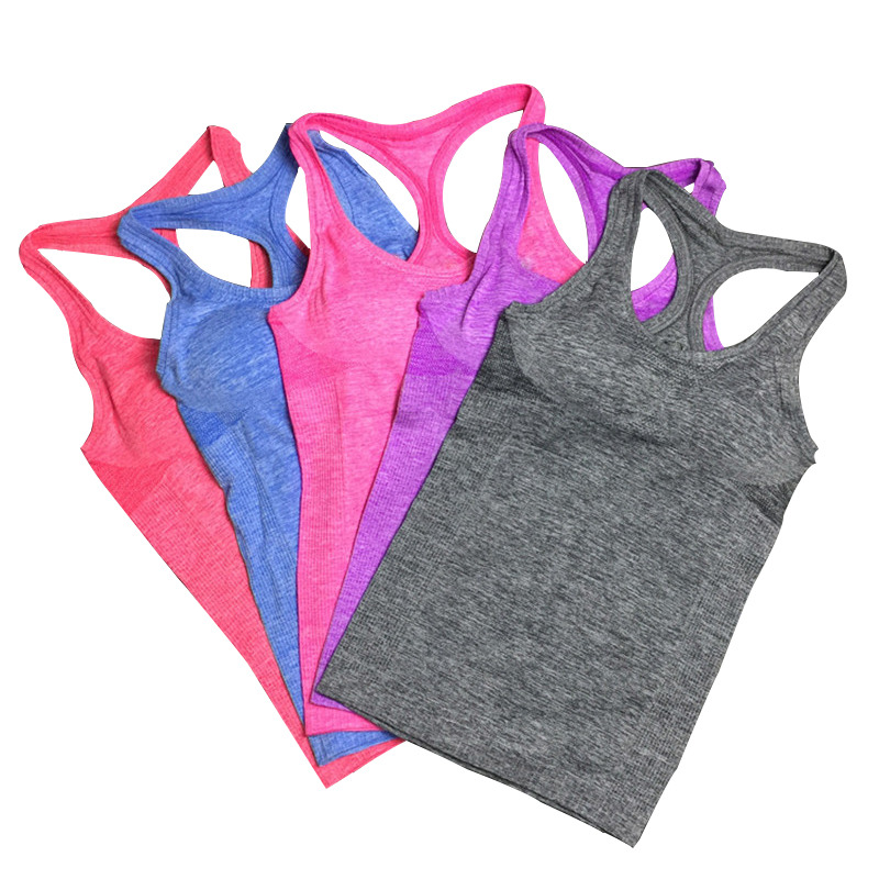 Aktiv Sommar Style Kvinnor Skjortor Elastisk Andas Fitness Bekväm - Damkläder