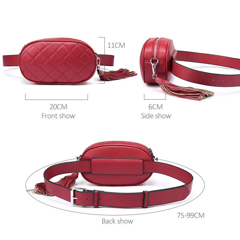 1350bae02492 Aliexpress.com : Buy LOVEVOOK fanny pack women waist packs belt bag female  shoulder crossbody bag school bum bag waist mini purse for women 2018 PU ...