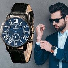Relojes 2019 Men Fashion Roman Scale Business Quartz Clock Mens Watches Top Brand Luxury Waterproof Wristwatch Relogio Masculino