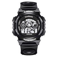 Новые роскошные цифровой будильник секундомер Подсветка Часы Для женщин Для мужчин детские спортивные наручные часы relogio feminino masculino 8A14