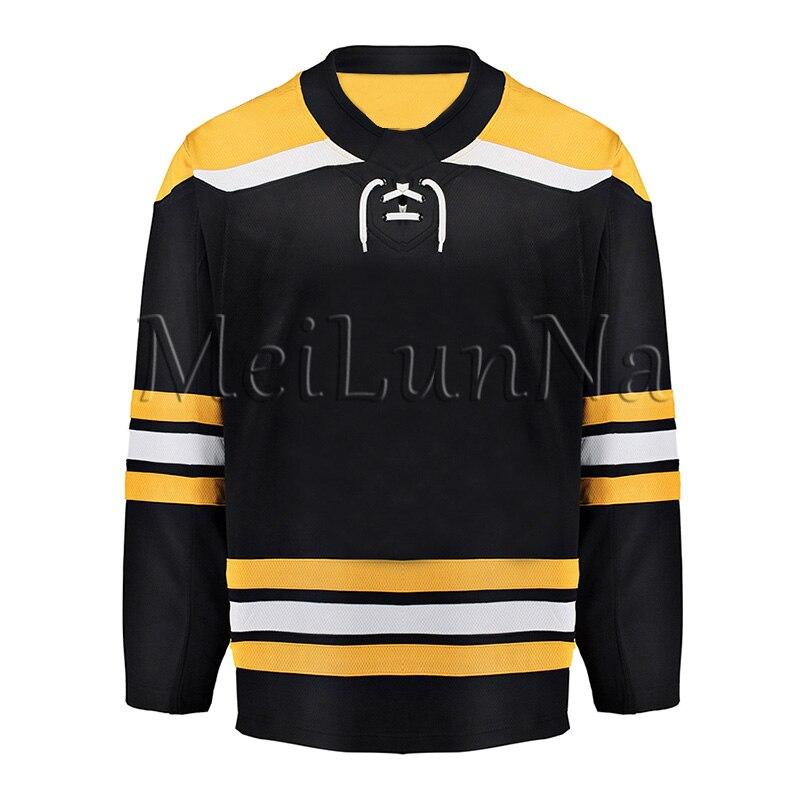 Zdeno Chara Brad Marchand David Pastrnak Patrice Bergeron Tuukka Rask David Backes Torey Krug Neely Boston Blank Hockey Jerseys
