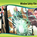 8mil safety window film Self adhesive PET protective film for windows use 60inch x 100ft