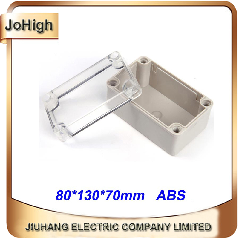 Connectors Sincere Free Shipping Top Quality Pvc Cover Abs Body Transparent Cover Ip66 Waterproof Terminal Junction Box 80*130*70mm Curing Cough And Facilitating Expectoration And Relieving Hoarseness
