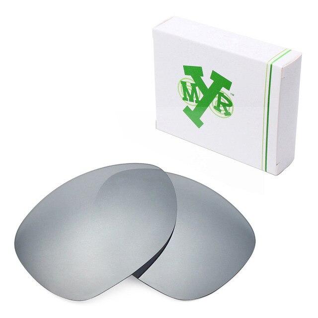 MRY ПОЛЯРИЗОВАННЫЕ на Замену Линзы для Crosshair 2012 Солнцезащитные Очки Oakley Silver Titanium