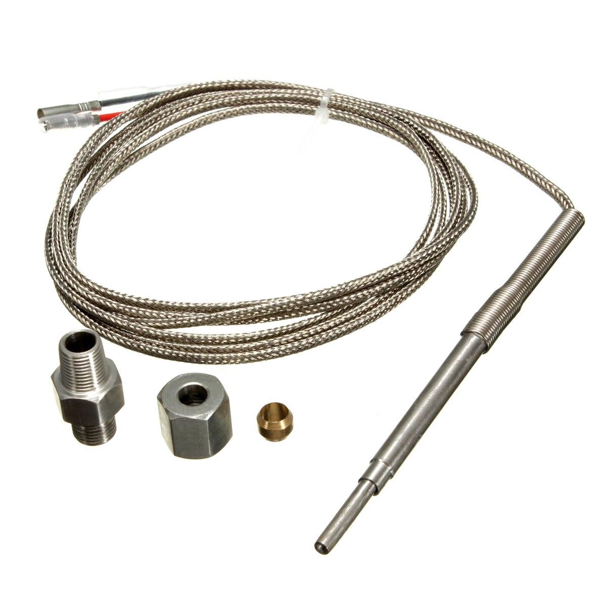 Universal K-tipo EGT de temperatura con termopar de sensores para el Gas de escape de la sonda