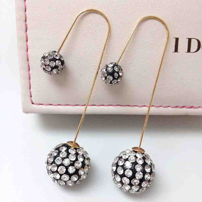 2017 New Pearl Jewelry Stud Earrings For Women Fine Nice Crystal Whole In From Accessories On Aliexpress