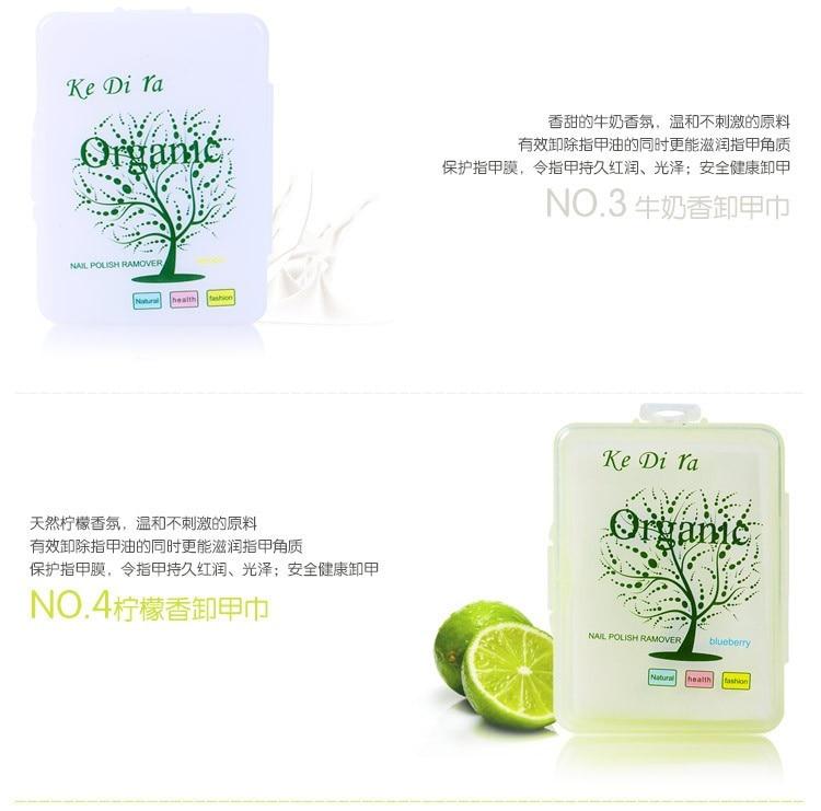 10 stks / partij Nagellak Remover Fruit Nursing Handdoek Wassen Nail - Nagel kunst - Foto 5