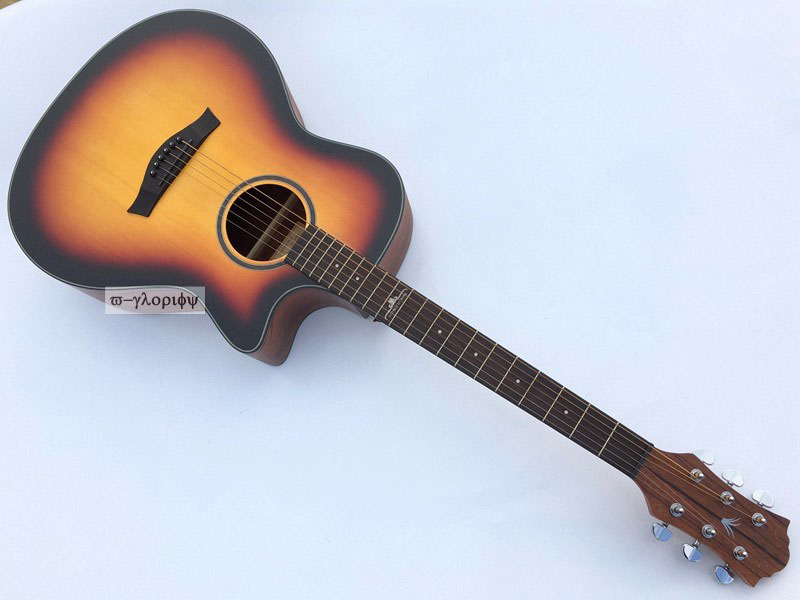 good quality TAL body sunburst acoustic guitargood quality TAL body sunburst acoustic guitar