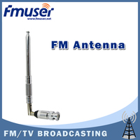 Free Shipping FMUSER FT 01 Type Telescopic Indoor FM Antenna For 1mw 5w FM Transmitter