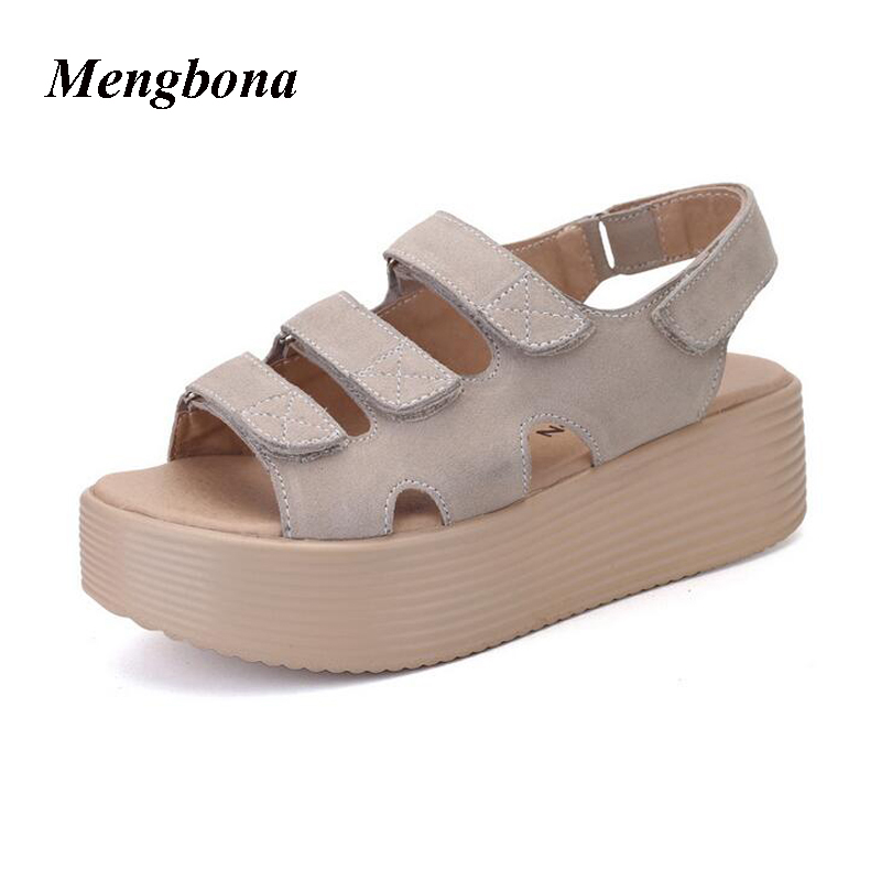 Hot sale Summer Women sandals Platform Thick Bottom Fashion women shoes sandalias mujer sapato feminino chaussure femme LX063 nouba губная помада rouge bijou 2 4мл