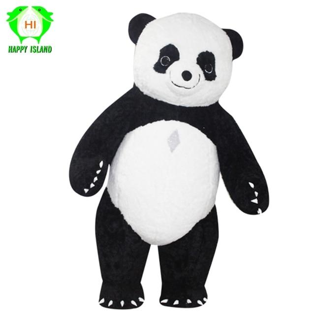 neue stil aufblasbare panda kostum fur werbung 3 mt hoch anpassen fur erwachsene aufblasbare panda geeignet