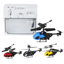with RC Mini Helicopter