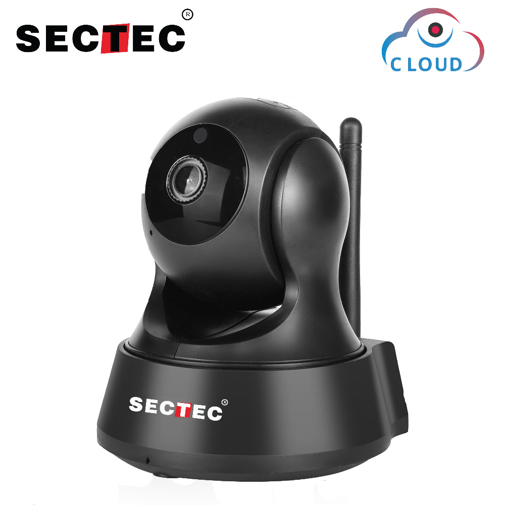 SECTEC 720P Cloud Storage Wireless IP Camera Wifi Cam Home Security Surveillance CCTV Network Camera Night Vision Baby Monitor