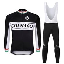 2019 COLNAGO men winter thermal bike clothes windproof rode bicycle clothing suits roupa ciclismo jacket cycling jersey sets santic winter fleece thermal cycling jacket men road mountain bike jacket windproof bicycle wind coat chaqueta ropa ciclismo