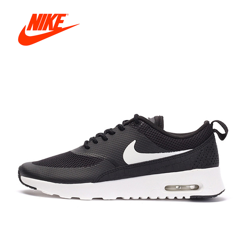 Original NIKE New Arrival Official Authentic Breathble Black AIR MAX THEA Women's Running Shoes Sneakers Outdoor Athletic цена