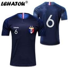 81529a4bb Soccer Jersey France Men Sport Shirt Adult Football Clothes Top Qaulity  Women Soccer Sport Jersey MBAPPE