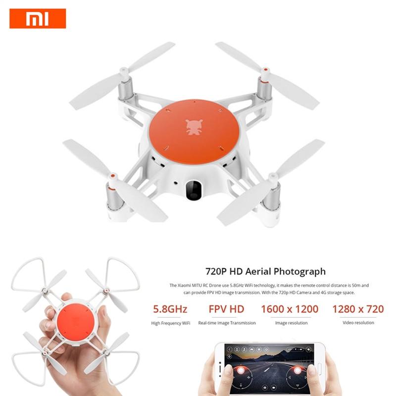 Original Xiaomi MiTu WiFi FPV With 720P HD Camera Multi-Machine Infrared Battle Mini RC Drone Quadcopter BNF cheerson cx 10wd mini wifi fpv rc quadcopter bnf gold