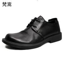 Business casual real leather shoes men British cowhide mens luxury designer loafers spring