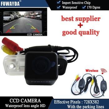 FUWAYDA Wireless Color HD CCD Car rear view camera Parking Reversing for Mercedes Benz C Class W203 E-Class W211 CLS W219 W209