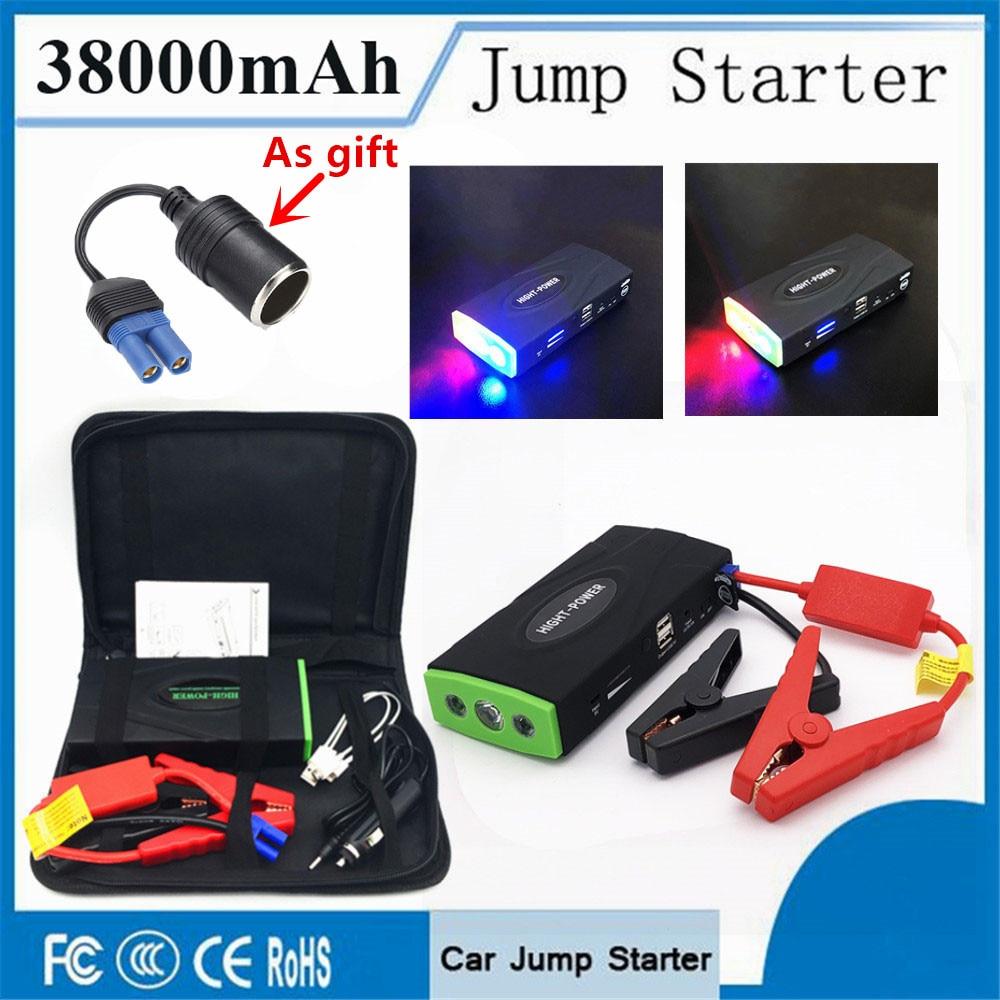 Multi-Funktion 38000 mah Ausgangs Gerät Booster 12 v 600A Benzin Diesel Auto Starter Tragbare Auto Ladegerät Für Auto batterie Buster