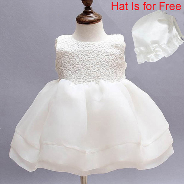 Newborn Dresses For Baby Girls Christening Gowns Kids Baptism Dress
