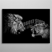 Animals 5d Diy Diamond Painting Cross Stitch Angry Lions Embroidery Kits Mosaic Hobbies Full Gifts Arts & Crafts