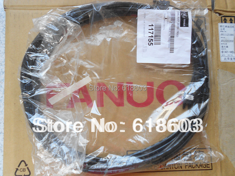 Fanuc optical fiber transmission power cable A66l-6001-0023 a66l 2050 0025 b fanuc cf card connector 1pc new dhl free shipping