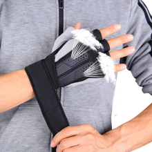 Tactical Sports Fitness Gimnastică de înaltă tensiune Mănuși de antrenament Fitness Bodybuilding Workout Wrist Wrap Exercise Glove for Men Femei