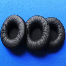 50pcs 70mmm headphone Leather Ear Cushion Ear pads 7cm durable sponge cushion for Sony MDR-V150 V250 V300 mayitr 1pair 7cm high quality replacement ear pads cushion for sony mdr v150 audio technica headphone