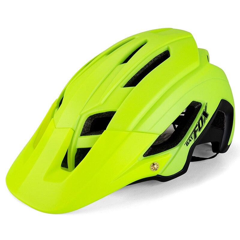 BATFOX サイクリングヘルメット道路 MTB 安全ヘルメット一体成形自転車ヘルメット超軽量通気性バイクヘルメット Casco Ciclismo  グループ上の スポーツ & エンターテイメント からの 自転車用ヘルメット の中 2