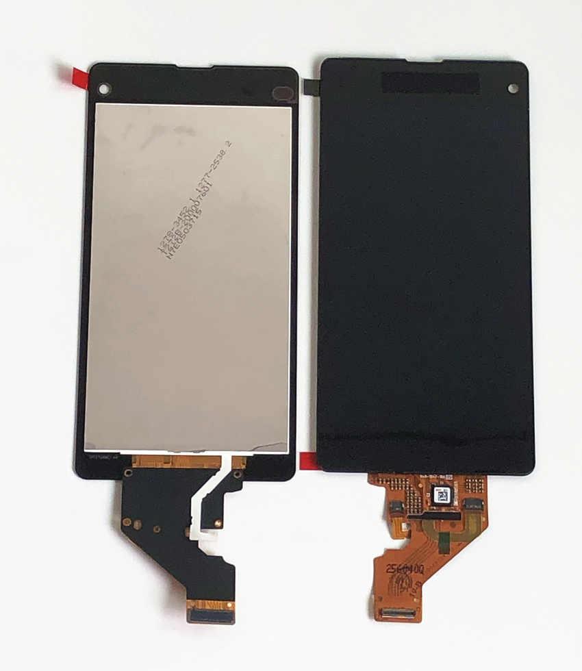 100% LCD d'origine pour Sony Xperia Z1 Mini Compact D5503 M51W LCD écran tactile numériseur assemblée + adhésif + outils de réparation