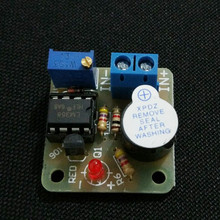LM358 12V Low-Voltage DC Low Voltage Accumulator Alarm Under Voltage Protection Module Boards Alarm  Componentes Eletronicos