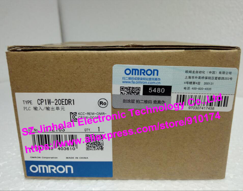 New and original  CP1W-20EDR1  OMRON PLC INPUT/OUTPUT UNIT new and original cp1w mad42 omron plc analog input output unit