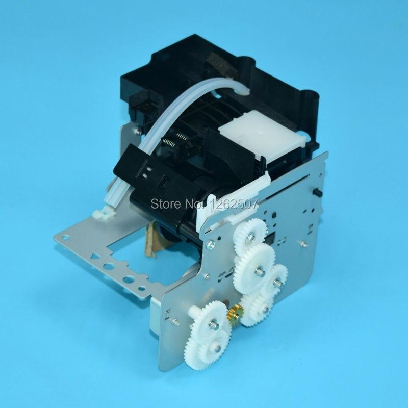 Новые чернила насос Кепки Assembley для Epson Stylus Pro 7800 7880 9800 9880 принтеры блок очистки в сборе с Кепки ping топ станции