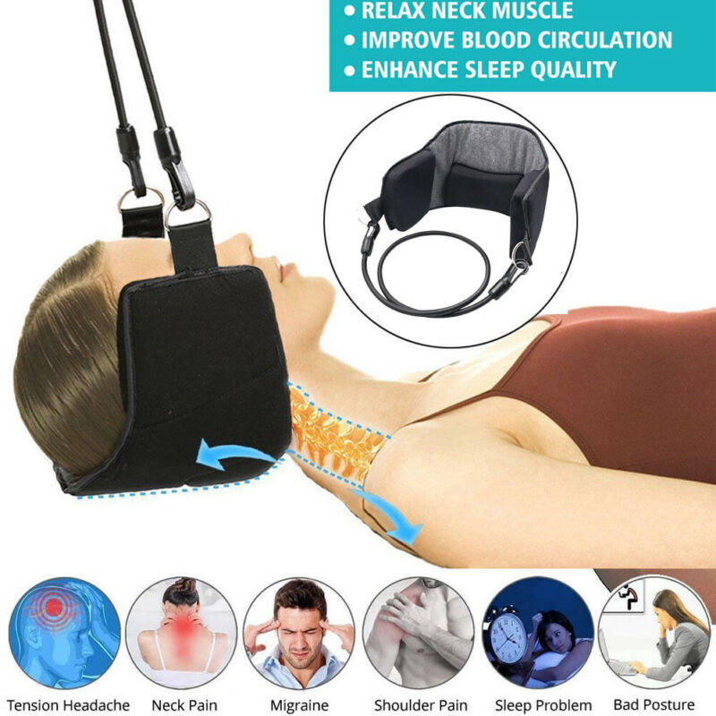 Neck Head For Pain Relief Cervical Traction Device Support Stretcher Hammock For Neck Pain Relief Support Massager