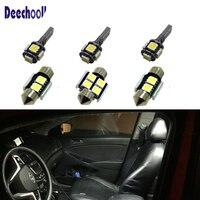 deechooll Car Signal LED Bulbs for Kia Soul 10 17 Forte 09 17,Auto LED Interior Map Dome Vanity Mirror License Plate Lights