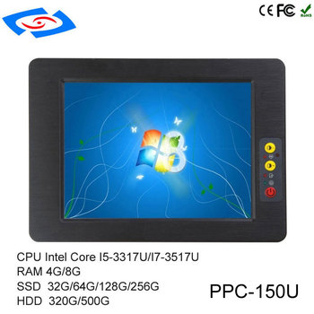 """Hot Sale Fanless All In One PC 15"""" Touch Screen Industrial Tablet PC With IP65 Dustproof And Waterproof Fanless Design Panel PC"""