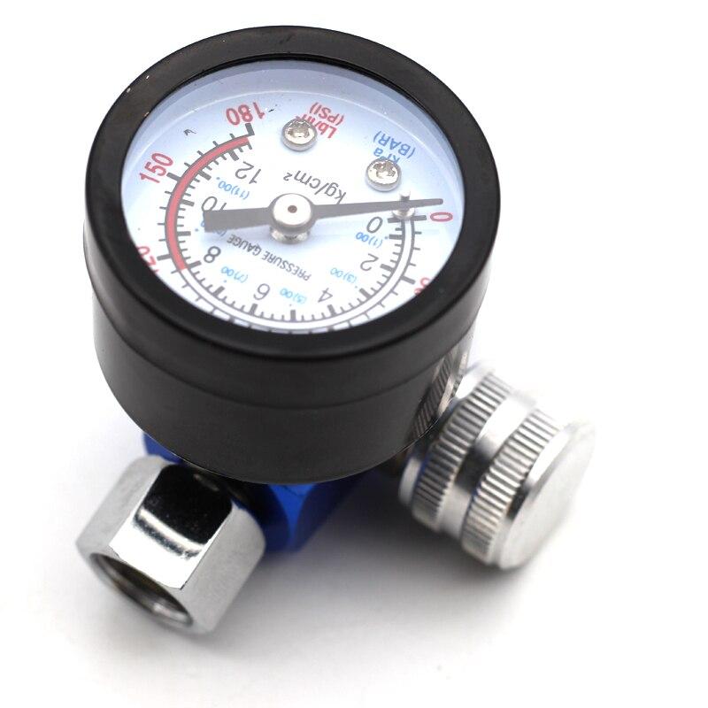 Image 5 - Airbrush Spray Gun Adjust Air Pressure Regulator Gauge Water Oil Trap Filter Separator Car Auto Repair Painting Tool HVLP-in Spray Guns from Tools on