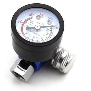 Image 5 - Airbrush Spray Gun Adjust Air Pressure Regulator Gauge Water Oil Trap Filter Separator Car Auto Repair Painting Tool HVLP  JP/EU