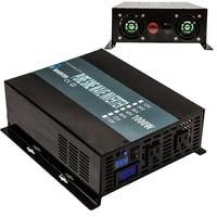 Single Phase Power Inverter 1000W Pure Sine Wave Solar Power Inverter LED Display DC to AC Converter Car Power Inverter
