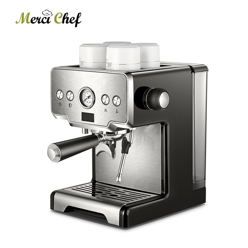 ITOP Commercial Coffee Maker 15Bars Espresso Coffee Machine With Milk Bubble Semi-automatic Italian Coffee Machine CE