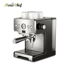 ITOP Commercial Coffee Maker 15Bars Espresso Coffee Machine With Milk Bubble Semi-automatic Italian Coffee Machine