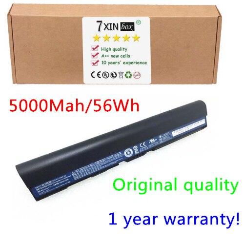 Original AL12X32 11.1V 56WH Battery for Acer Aspire One 725 756  V5-121 V5-123 V5-131 V5-171 For Chromebook C710 AL12B32 AL12B72  laptop hinge for acer aspire v5 v5 131 v5 171 aspire one 756 left