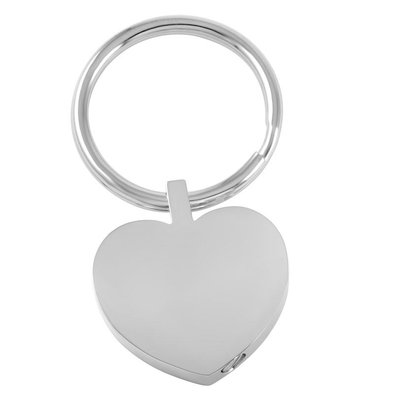 IJK2014 Hot Sale Silver/Golden 316L Stainless Steel Blank Engravable Heart Cremation Urn ...